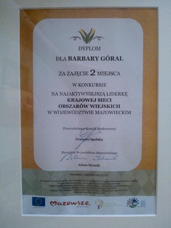 Konkurs na najaktywniejszą liderkę obszarów wiejskich