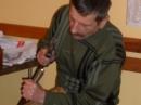 Jerzy Maciaszek w trakcie pracy