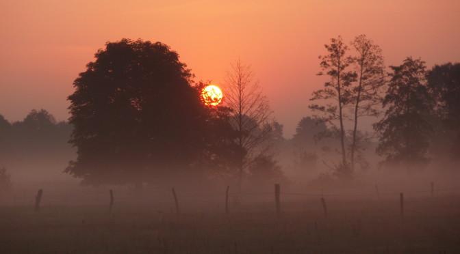 Wschód słońca nad Liwcem